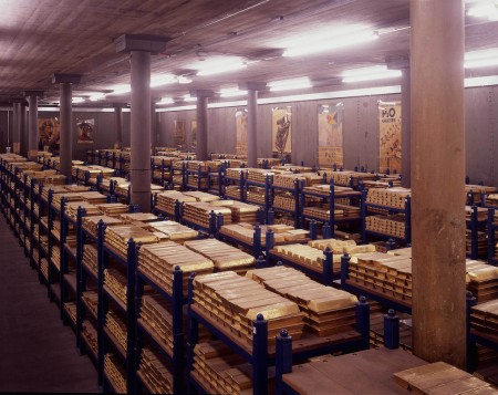 Bank of England Gold Vaults
