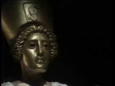 The Sybil at Cumae, as depicted in the 1976 BBC TV series, I, Claudius. The Sybil's prophecies were much more accurate than modern economic forecasts, and a lot more fun.