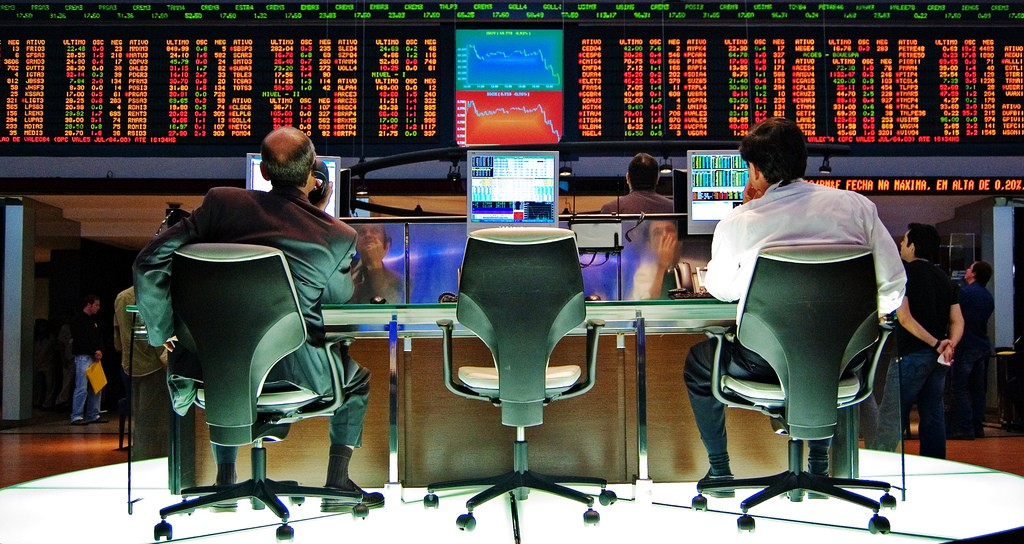 Panic on the Sao Paulo stock exchange, at the start of the last global crash in April 2007.